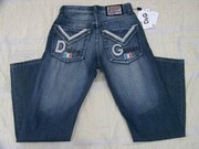 D&G and Coogi jeans