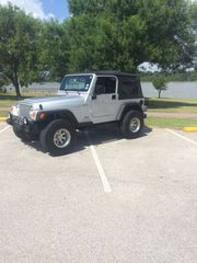 2004 Jeep Wrangler 4 wheel drive