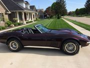 1971 Chevrolet Corvette Deluxe black leather